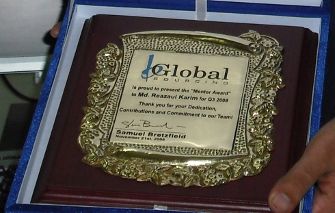 Memtot Award